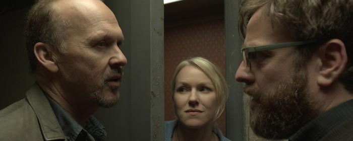 Michael Keaton, Naomi Watts and Zach Galifianakis in Birdman (2014)