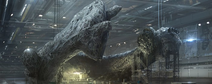 Canon Will Eat Itself - Neil Blomkamp's Alien Concept Art