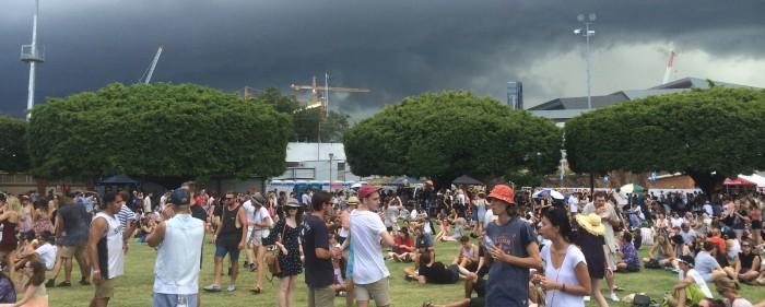 Brisbane St Jerome's Laneway Festival 2015
