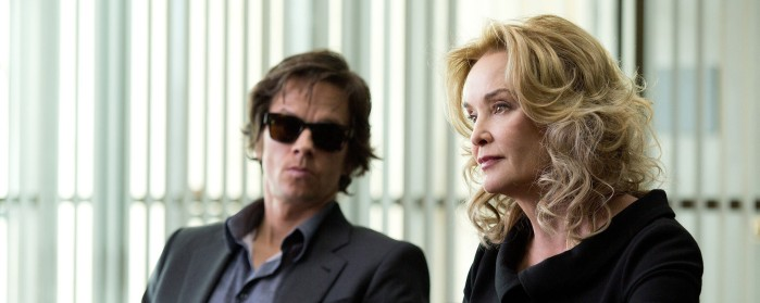 Mark Wahlberg and Jessica Lange in The Gambler (2014)
