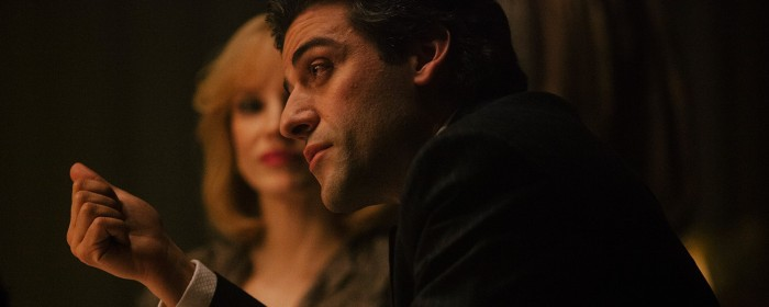 Oscar Issac and Jessica Chastain in A Most Violent Year (2014)