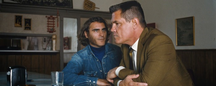Josh Brolin and Joaquin Phoenix in Inherent Vice (2014)