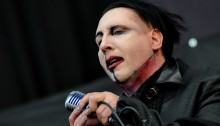 Marilyn Manson at Soundwave Festival 2015 - Brisbane