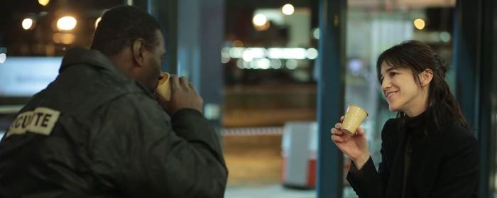 Omar Sy and Charlotte Gainsbourg in Samba (2014)