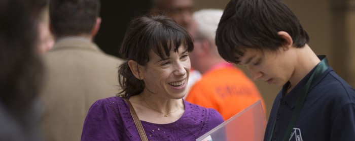 Sally Hawkins and Asa Butterfield in x+y (2014)