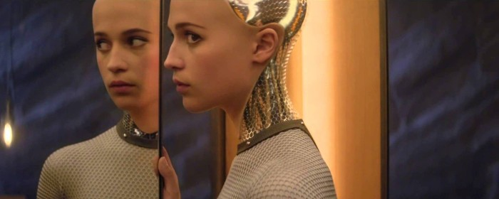 Alicia Vikander in Ex Machina (2015)