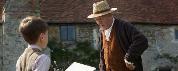 Ian McKellen as Sherlock Holmes in Mr Holmes (2015)