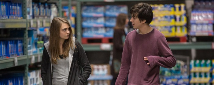 Cara Delevingne and Nat Wolff in Paper Towns (2015)