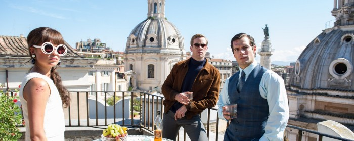 Henry Cavill, Arnie Hammer and Alicia Vikander in The Man from U.N.C.L.E. (2015)
