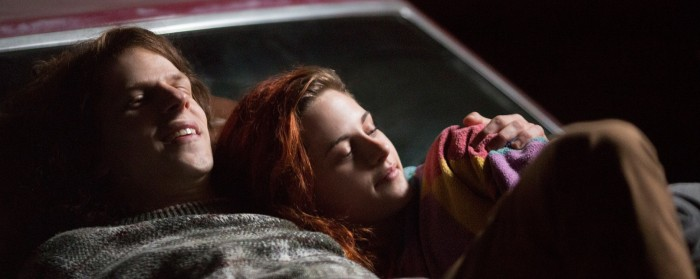 Jesse Eisenberg and Kristen Stewart in American Ultra (2015)