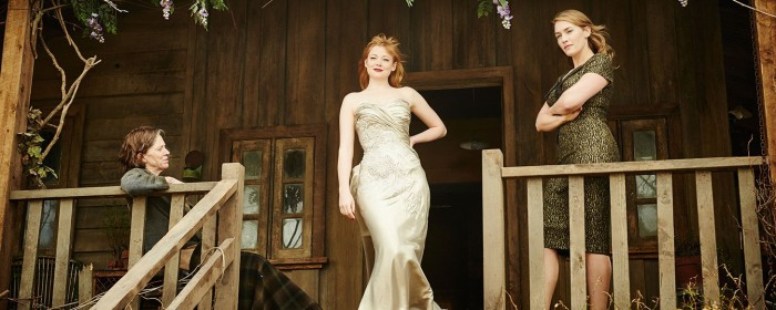 Judy Davis, Sarah Snook and Kate Winslet in The Dressmaker (2015)
