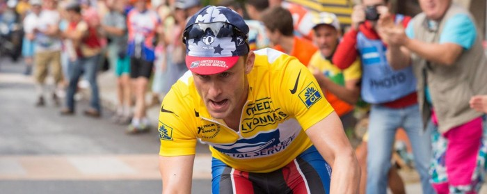 Ben Foster as Lance Armstrong in The Program (2015)