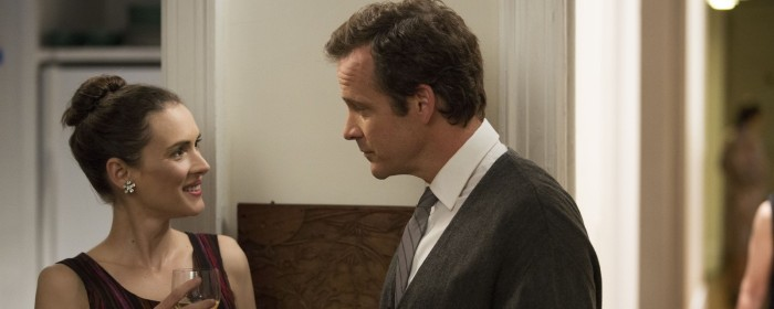 Winona Ryder and Peter Sarsgaard in Experimenter (2015)