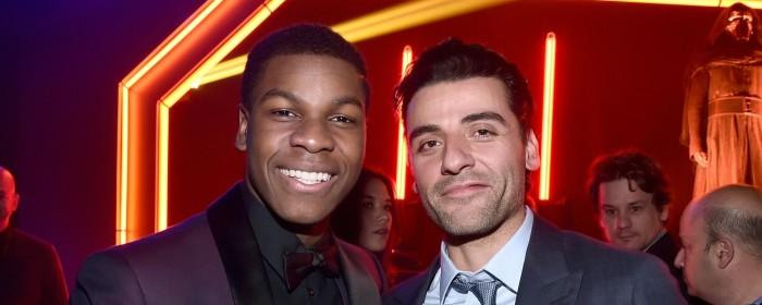 The Slash Awakens: John Boyega and Oscar Isaac