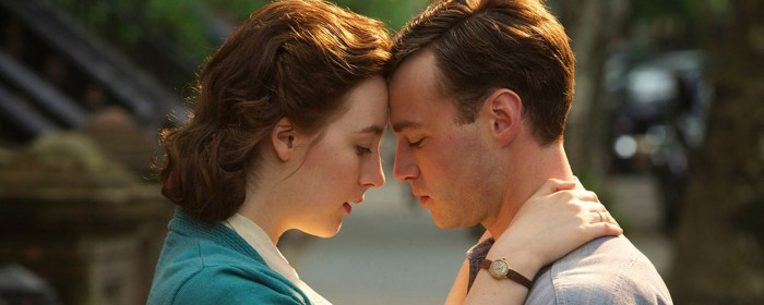 Emory Cohen and Saorise Ronan in Brooklyn (2015)