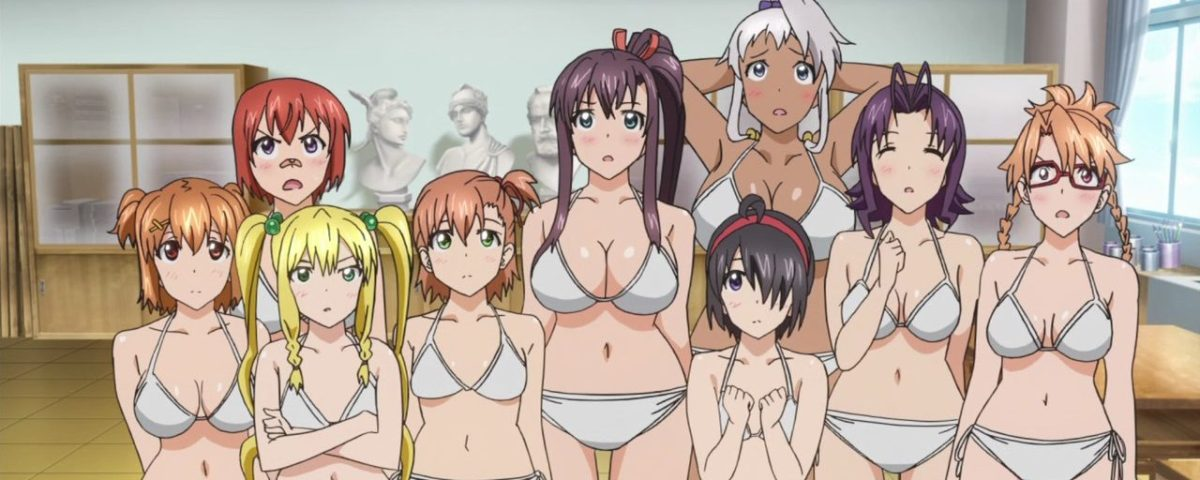 Maken-ki! Two girls in bikini