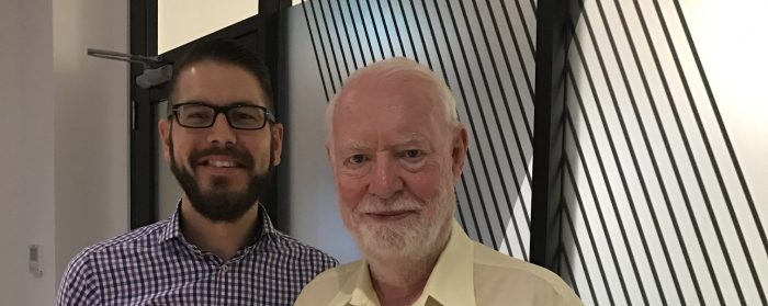 David Stratton and myself